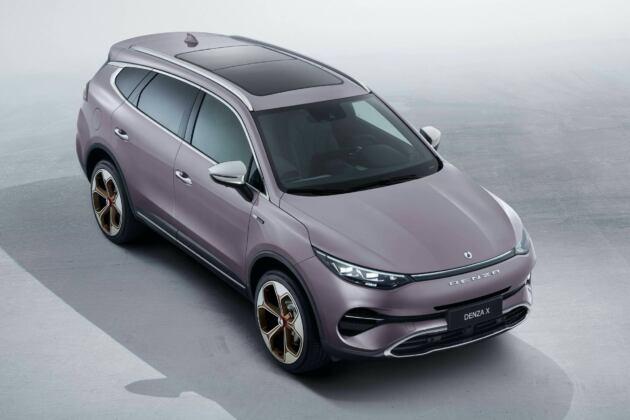 Denza X: debutta in Cina il SUV progettato da Mercedes