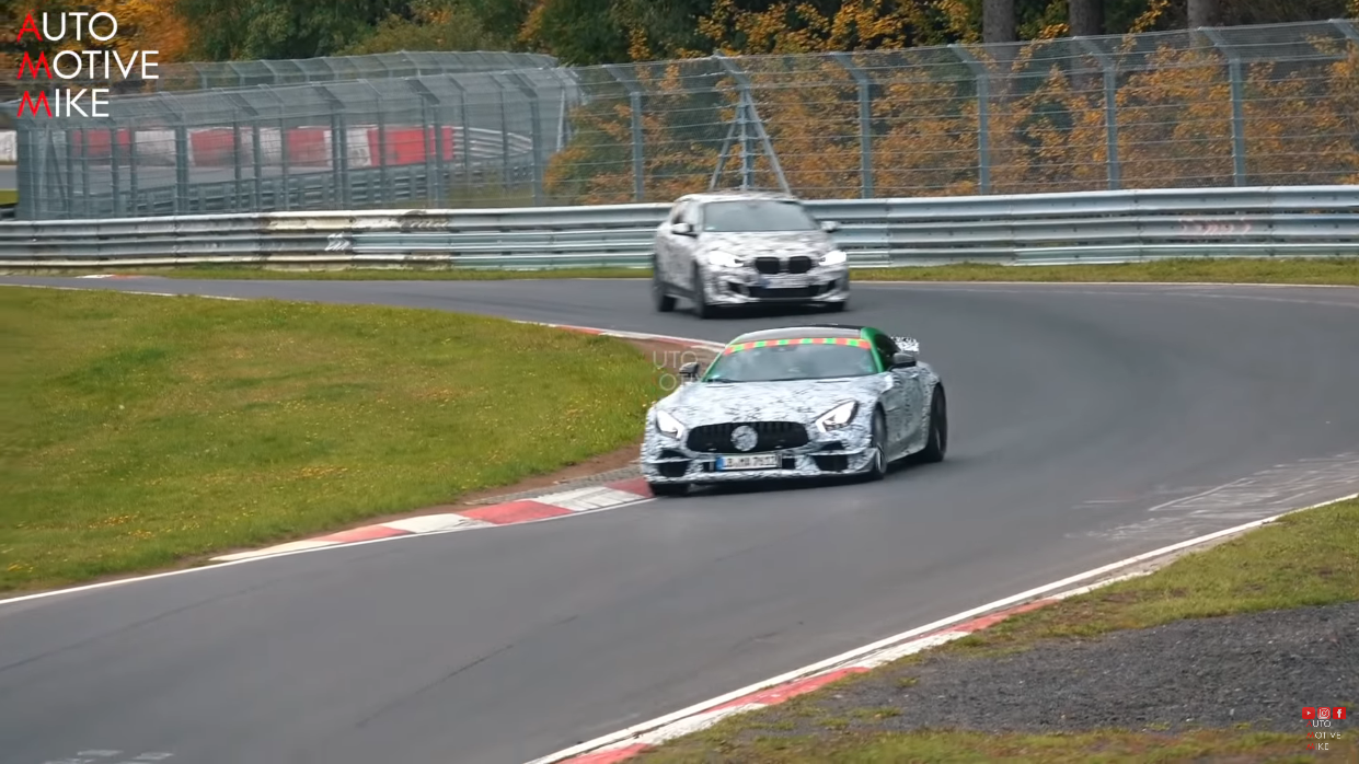 Mercedes-AMG GT R Black Series Nurburgring