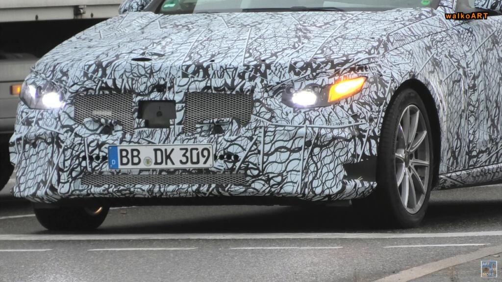 Mercedes Classe C e Classe S 2021 foto spia
