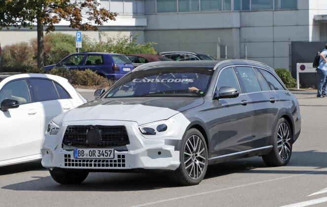 Mercedes Classe E All-Terrain 2020 foto spia