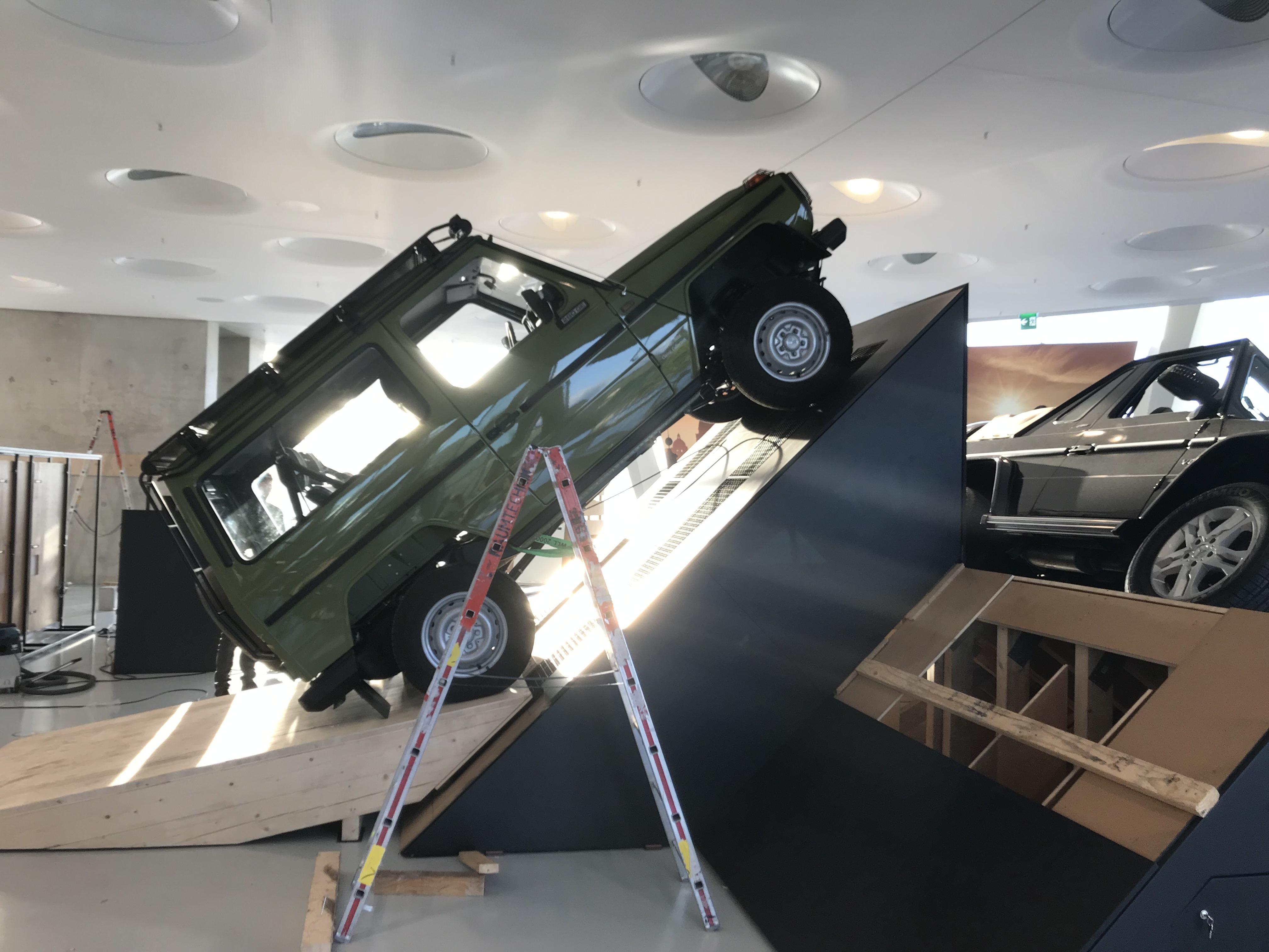 """G-Schichten"" (G stories): dal 18 ottobre si terrà la mostra dedicata al Mercedes Classe G"