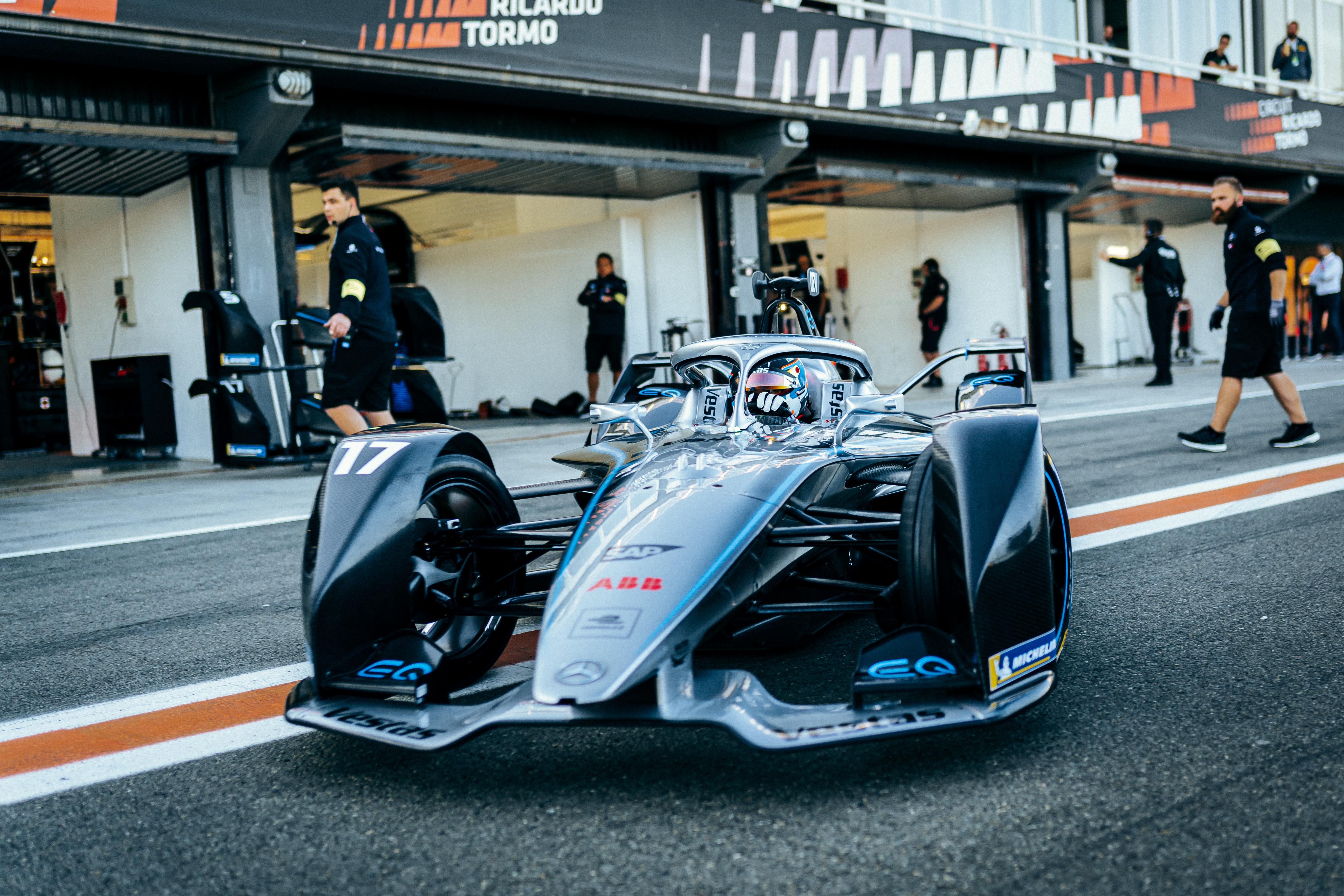Mercedes EQ Silver Arrow 01 test Valencia