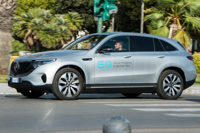 Mercedes EQC Reveal Tour Roma