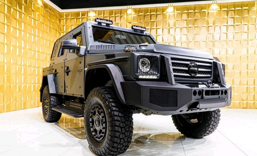 Mercedes G 500 4×4²