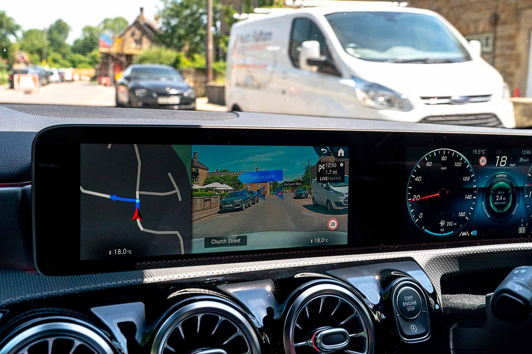 Mercedes India MBUX