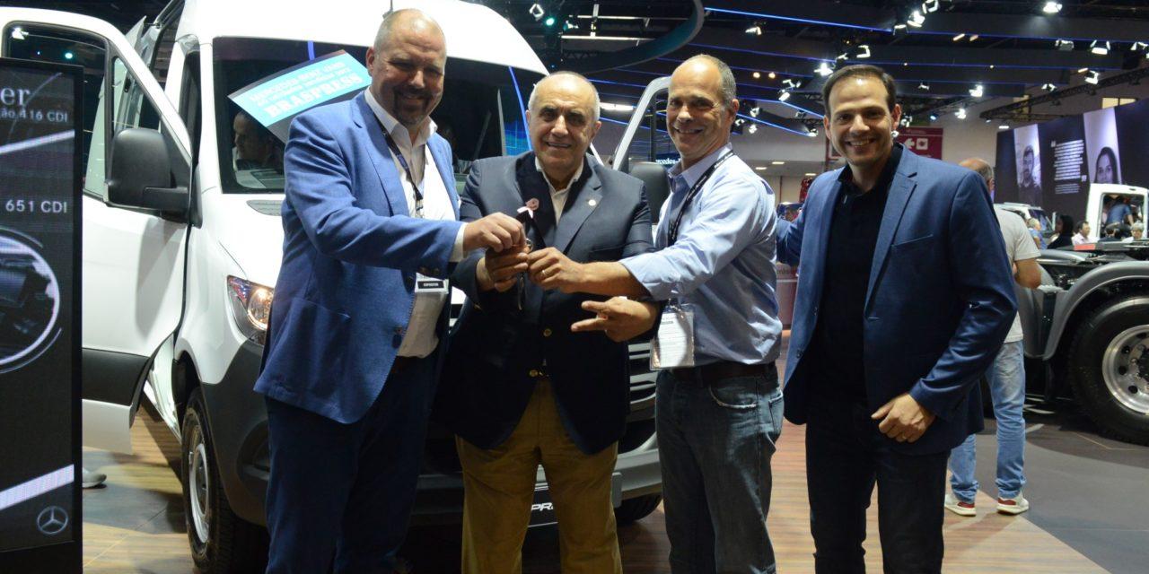 Mercedes Sprinter: venduti 40 esemplari a Braspress