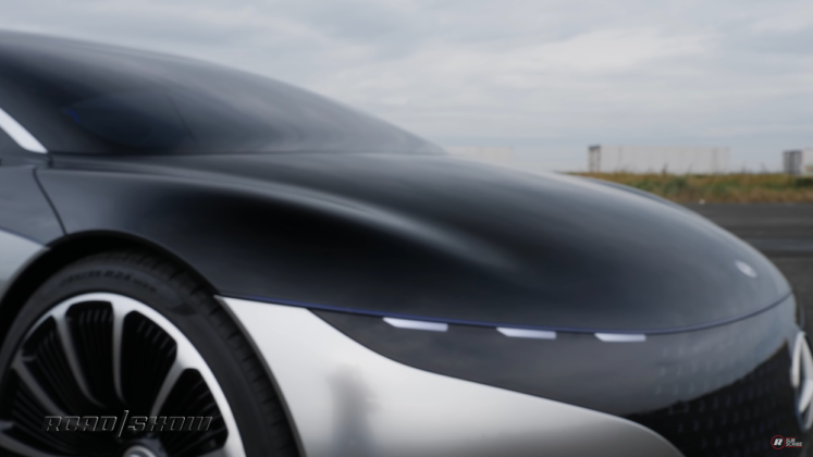 Mercedes Vision EQS Roadshow
