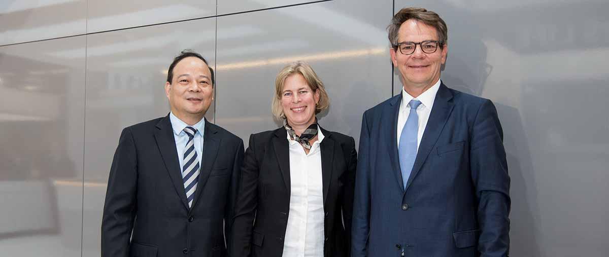 Robin Zeng, Gesa Reimelt e Frank Reintjes