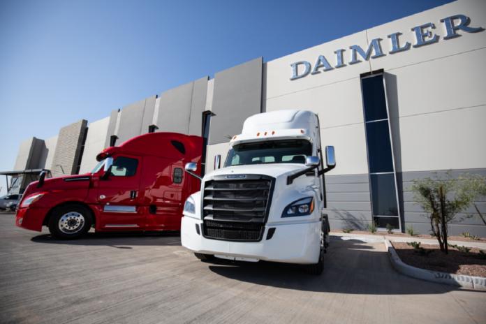 Daimler Trucks Nord America decimo centro ricambi
