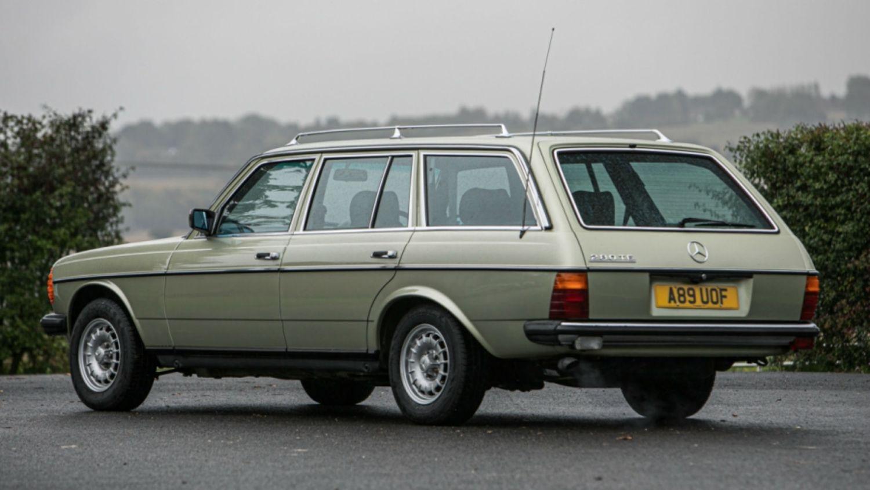 Mercedes 280 TE: l'esemplare appartenuto a Jay Kay verrà messo all'asta
