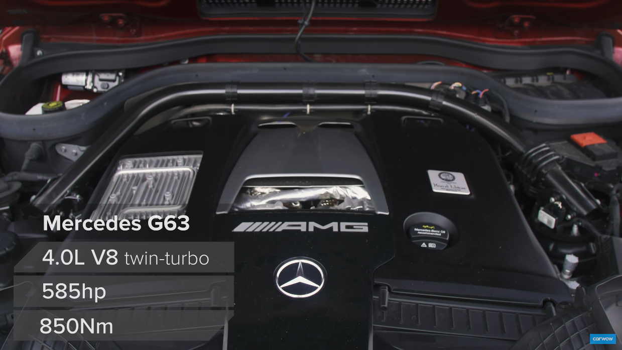 Mercedes-AMG G 63 drag race Carwow