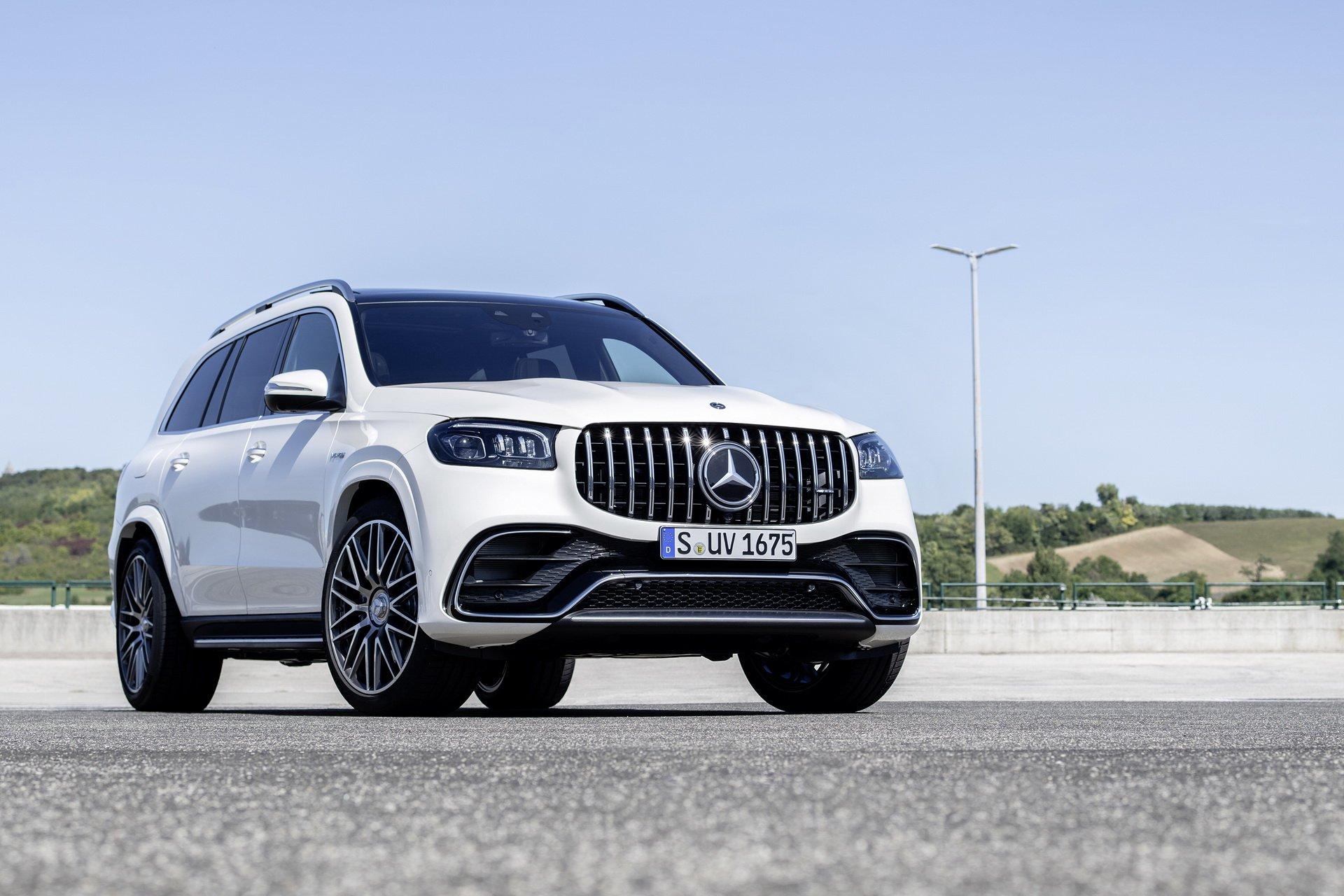 Mercedes-AMG GLS 63 2021: il SUV di lusso a sette posti debutta a Los Angeles
