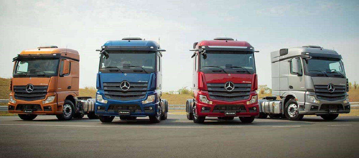 Mercedes Actros piano acquisto