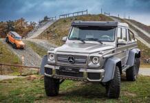 Mercedes Classe G centro esperienza Styria