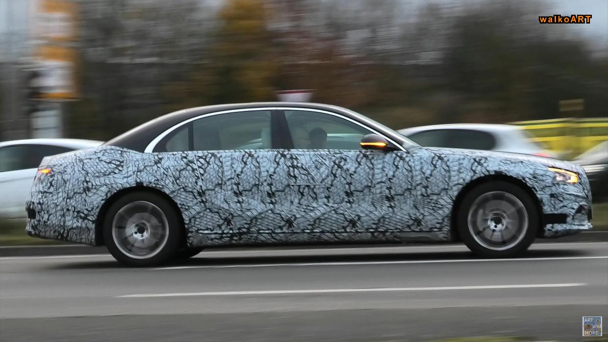 Mercedes Classe S 2021: l'ultimo prototipo svela altri dettagli sul design