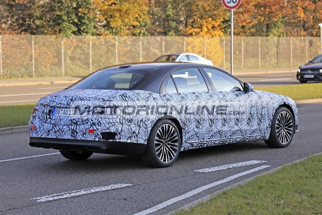 Mercedes Classe S 2021 nuova serie