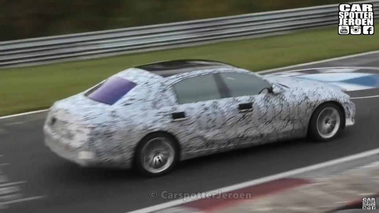 Mercedes Classe S 2021 prototipo Nurburgring