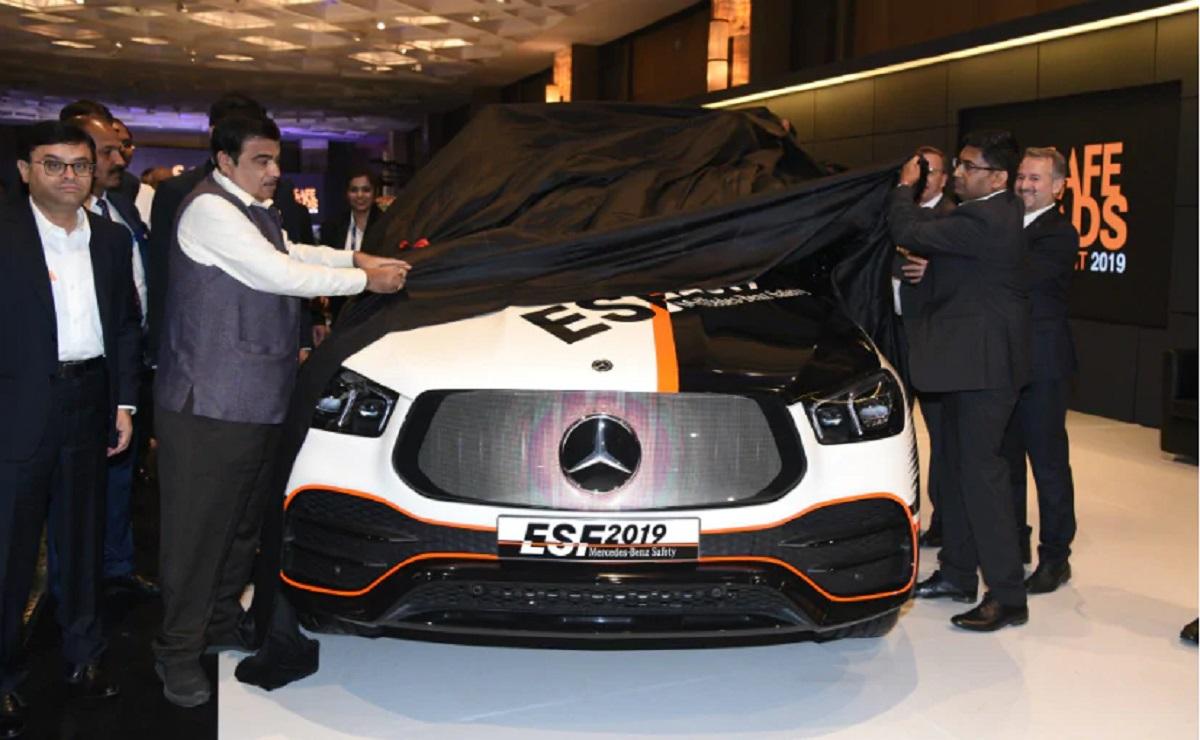 Mercedes mostra in India il suo veicolo sperimentale ESF 2019 - MBenz.it