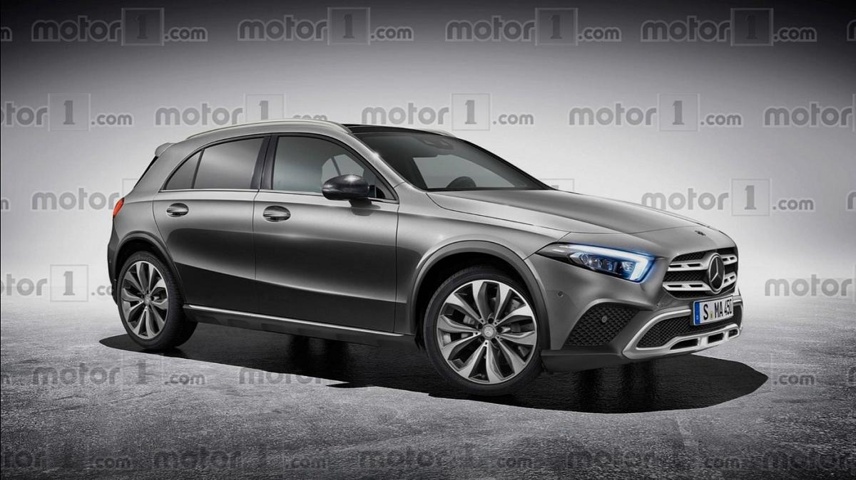 Mercedes GLA 2020 render