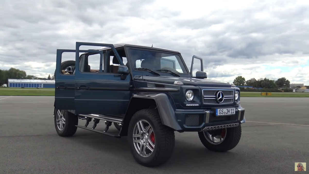 Mercedes-Maybach G 650 Landaulet Supercar Blondie