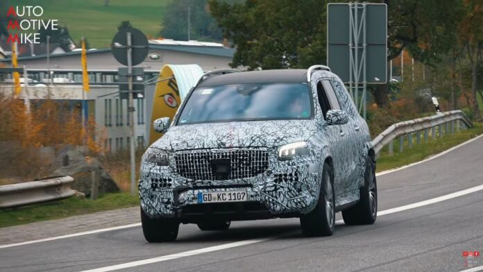 Mercedes-Maybach GLS 2021 Nurburgring