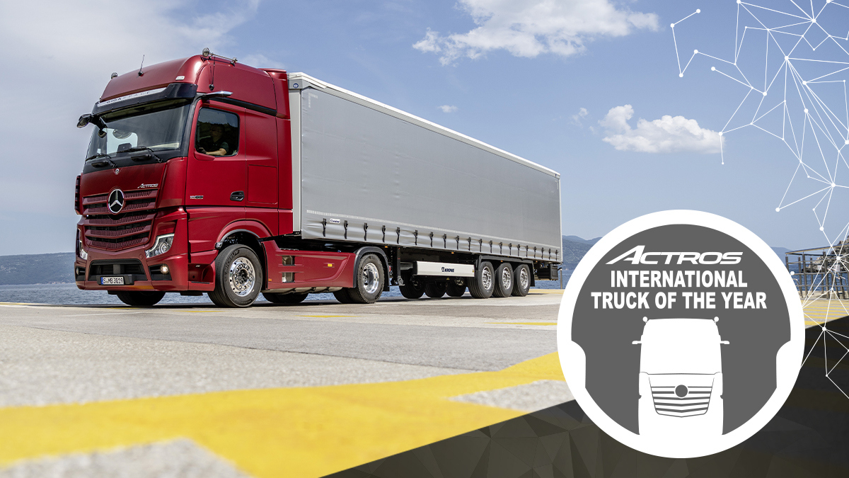 Nuovo Mercedes Actros conquista il premio Truck of the Year 2020 - MBenz.it