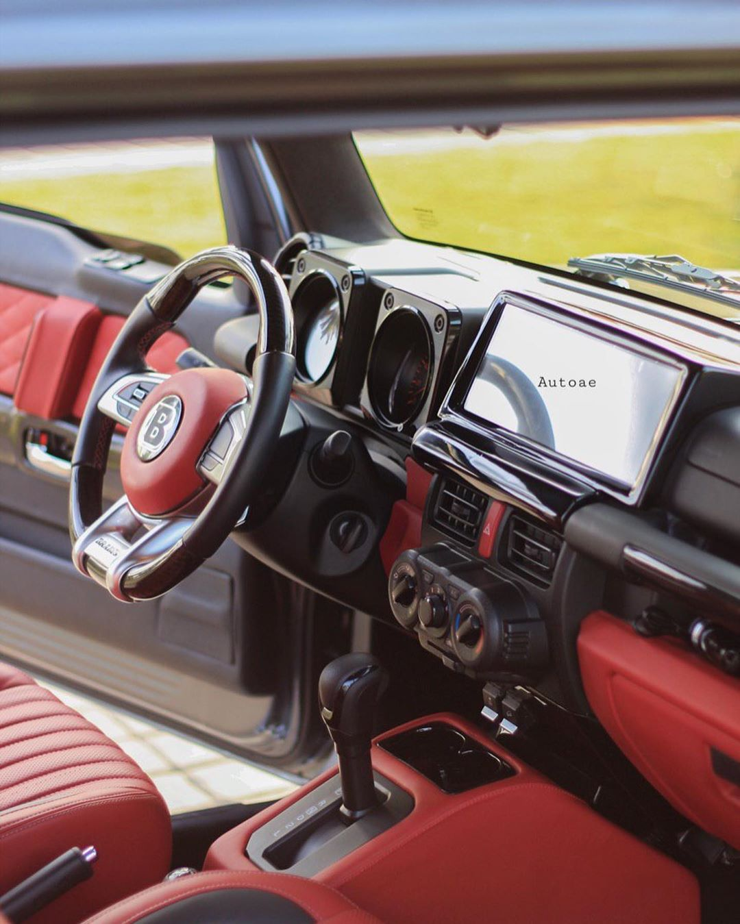 Suzuki Jimny Mercedes-AMG G 63 Brabus