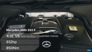 Mercedes-AMG E 63 S Carwow