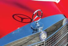 Mercedes-Benz 300 SEL 6.3 Red Pig Replica asta