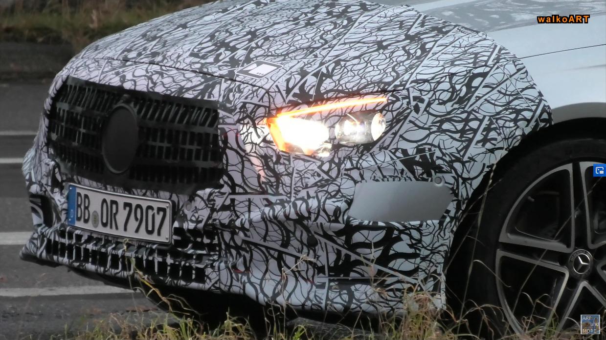 Mercedes Classe E 2021 prototipo foto spia