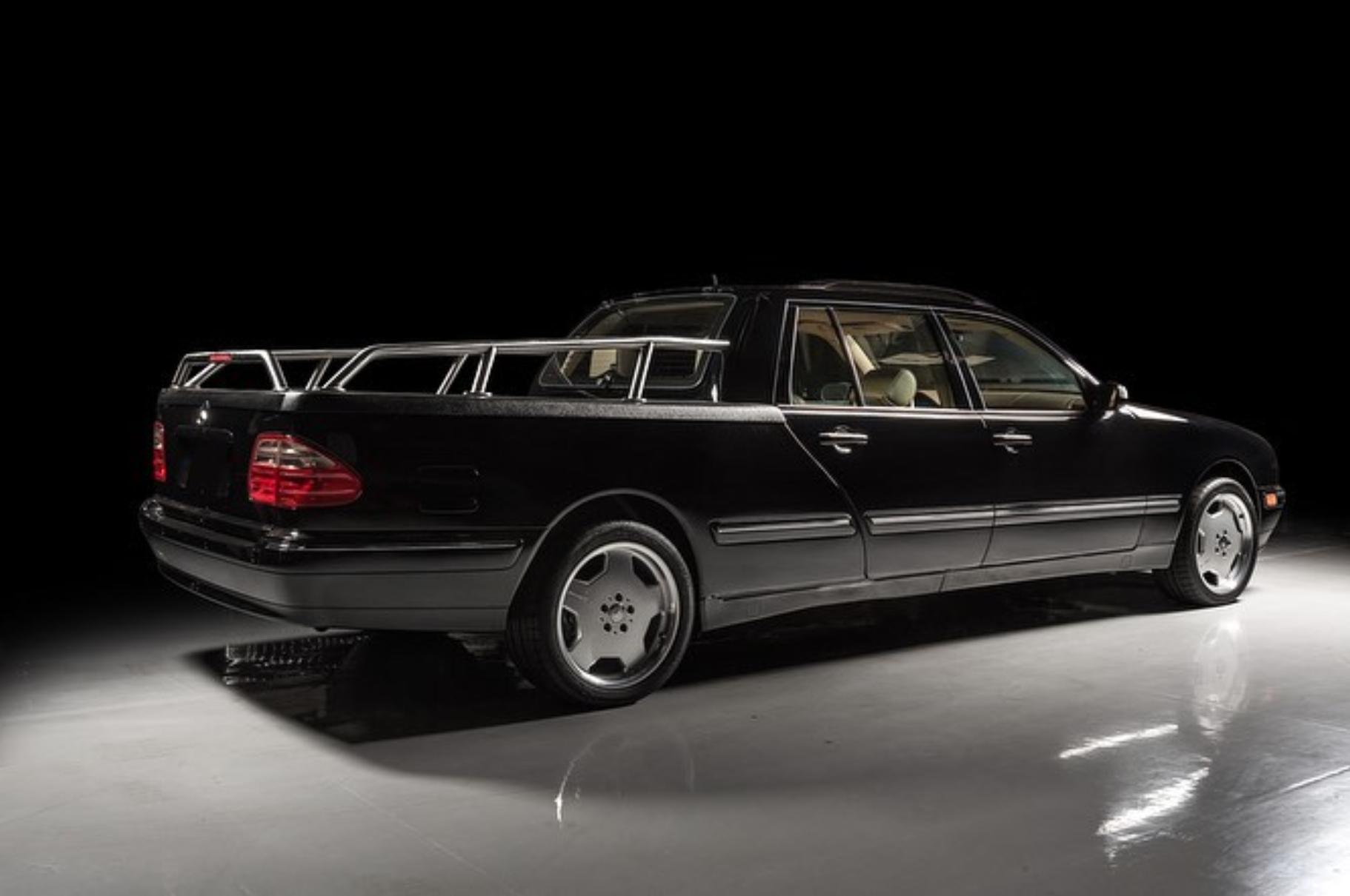 Mercedes Classe E pick-up asta