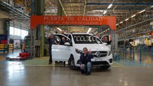 Mercedes Classe V 222.222° esemplare prodotto