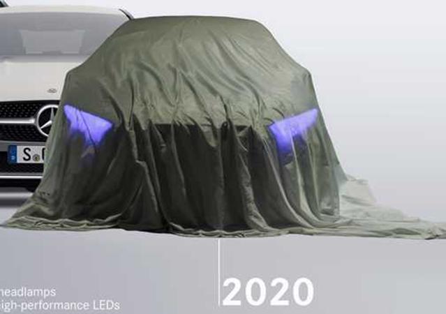 Mercedes EQS teaser
