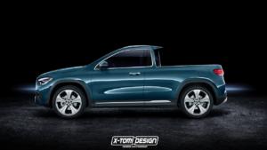 Mercedes GLA pickup