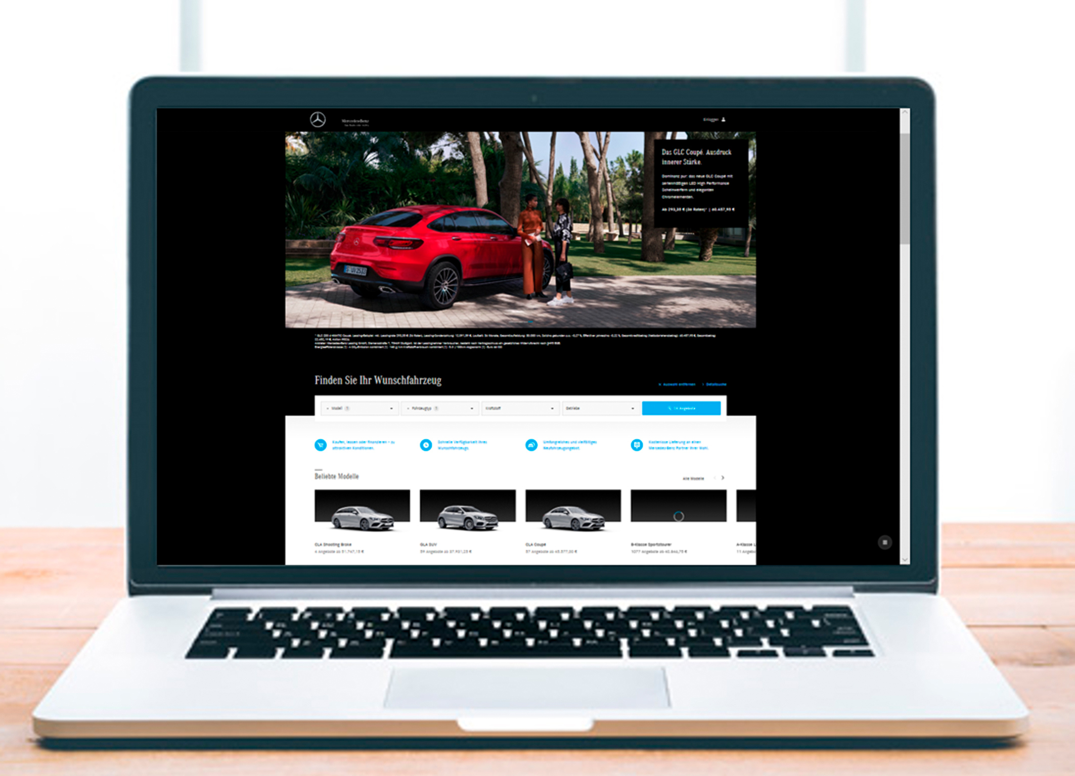 Mercedes negozio online