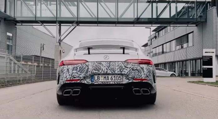Nuova Mercedes-AMG GT Coupé4 video teaser