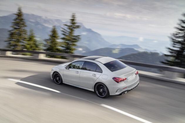 Nuova Mercedes Classe A Sedan