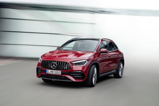 Nuovo Mercedes-AMG GLA 35