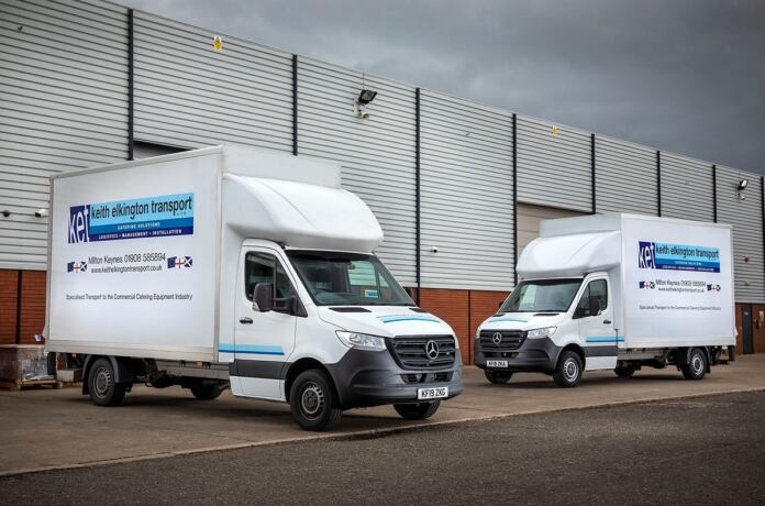 Nuovo Mercedes Sprinter Keith Elkington Transport