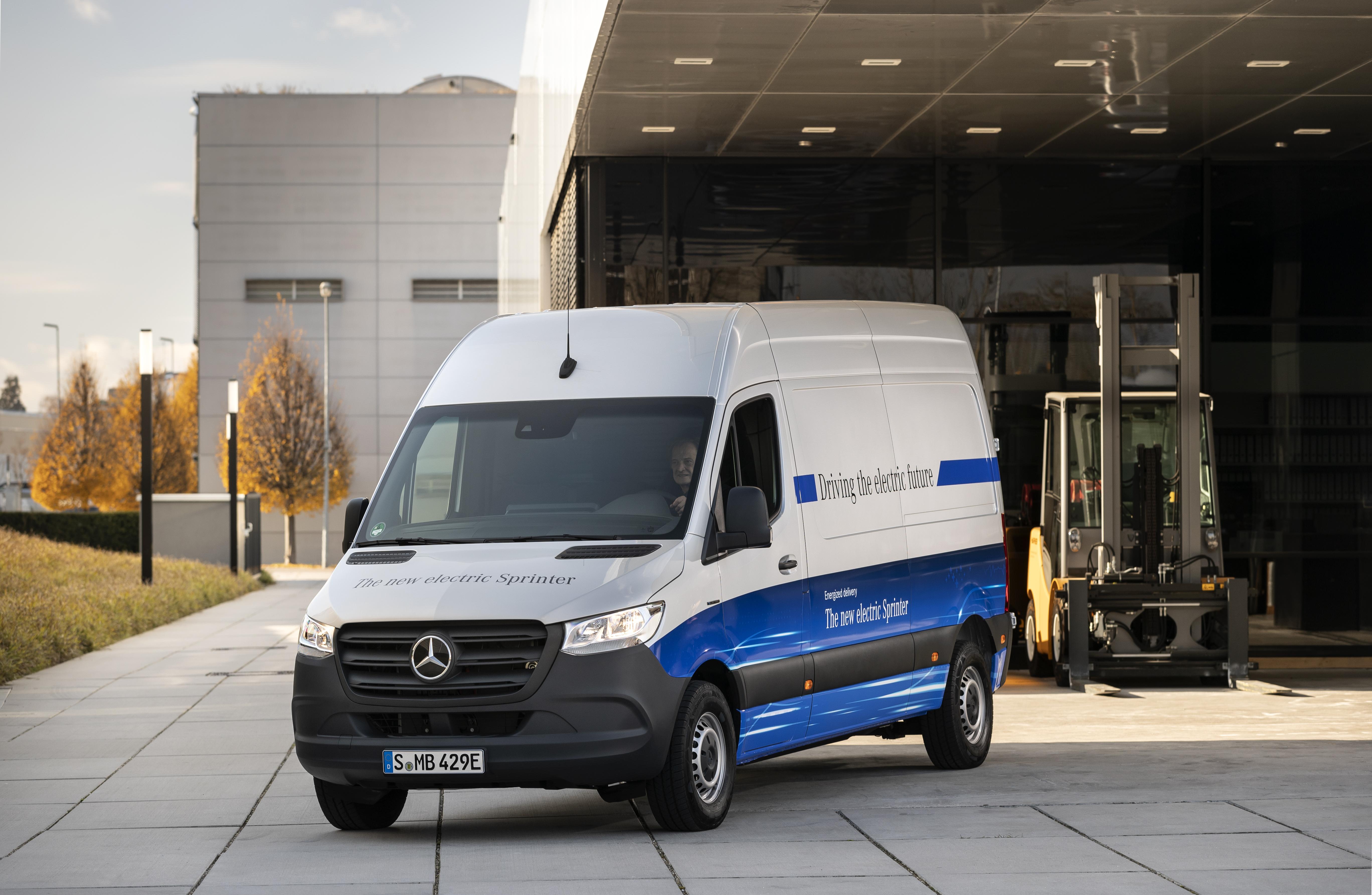 Nuovo Mercedes eSprinter presentazione Germania