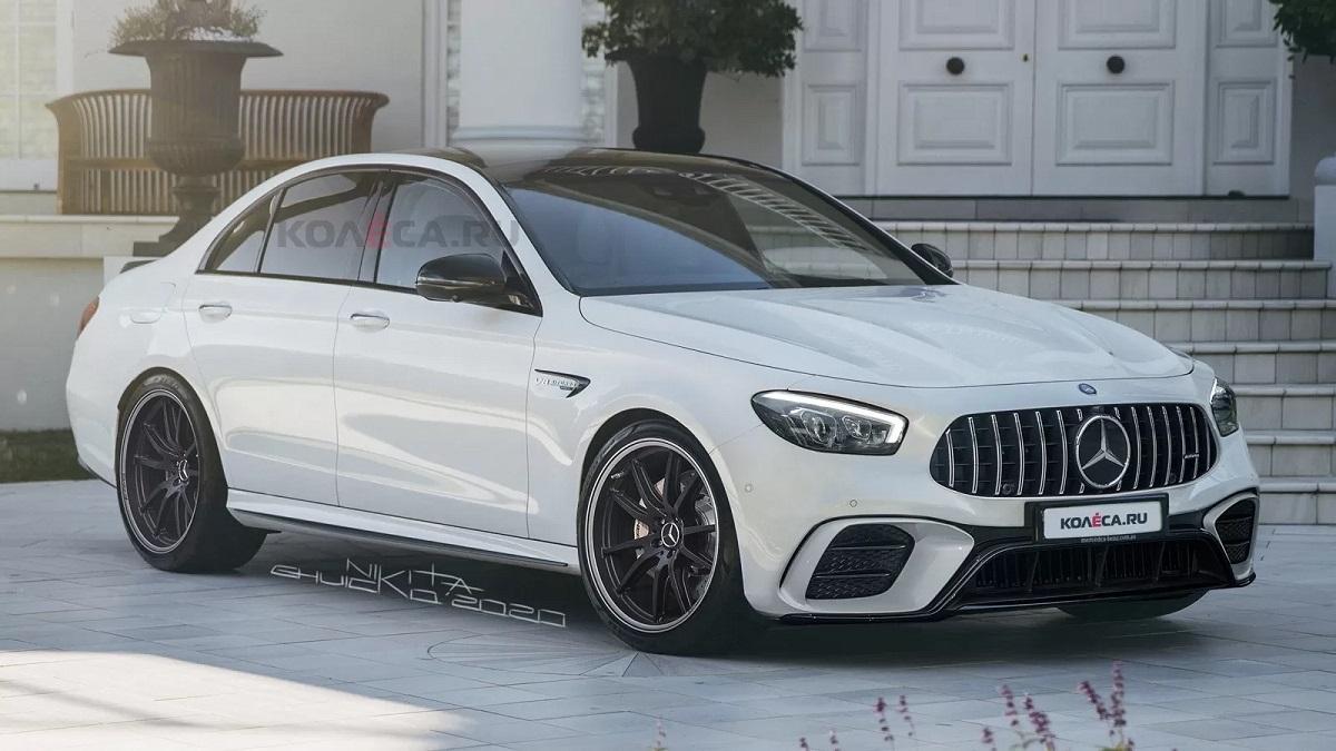 Mercedes-AMG E 63 2021 Kolesa render