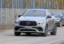 Mercedes-AMG GLE 63 Coupé 2021 foto spia