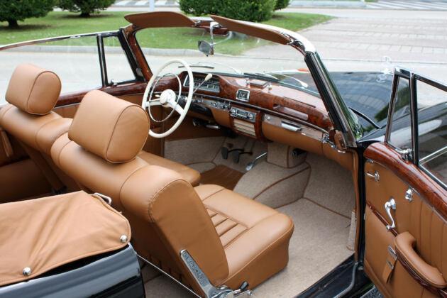 Mercedes-Benz 220S Cabriolet 1958 asta