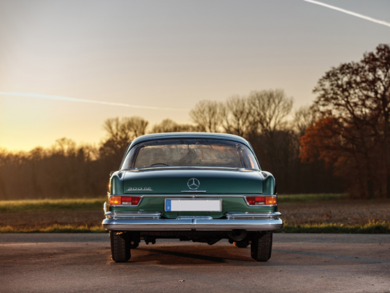 Mercedes-Benz 300SE coupé 1963 asta