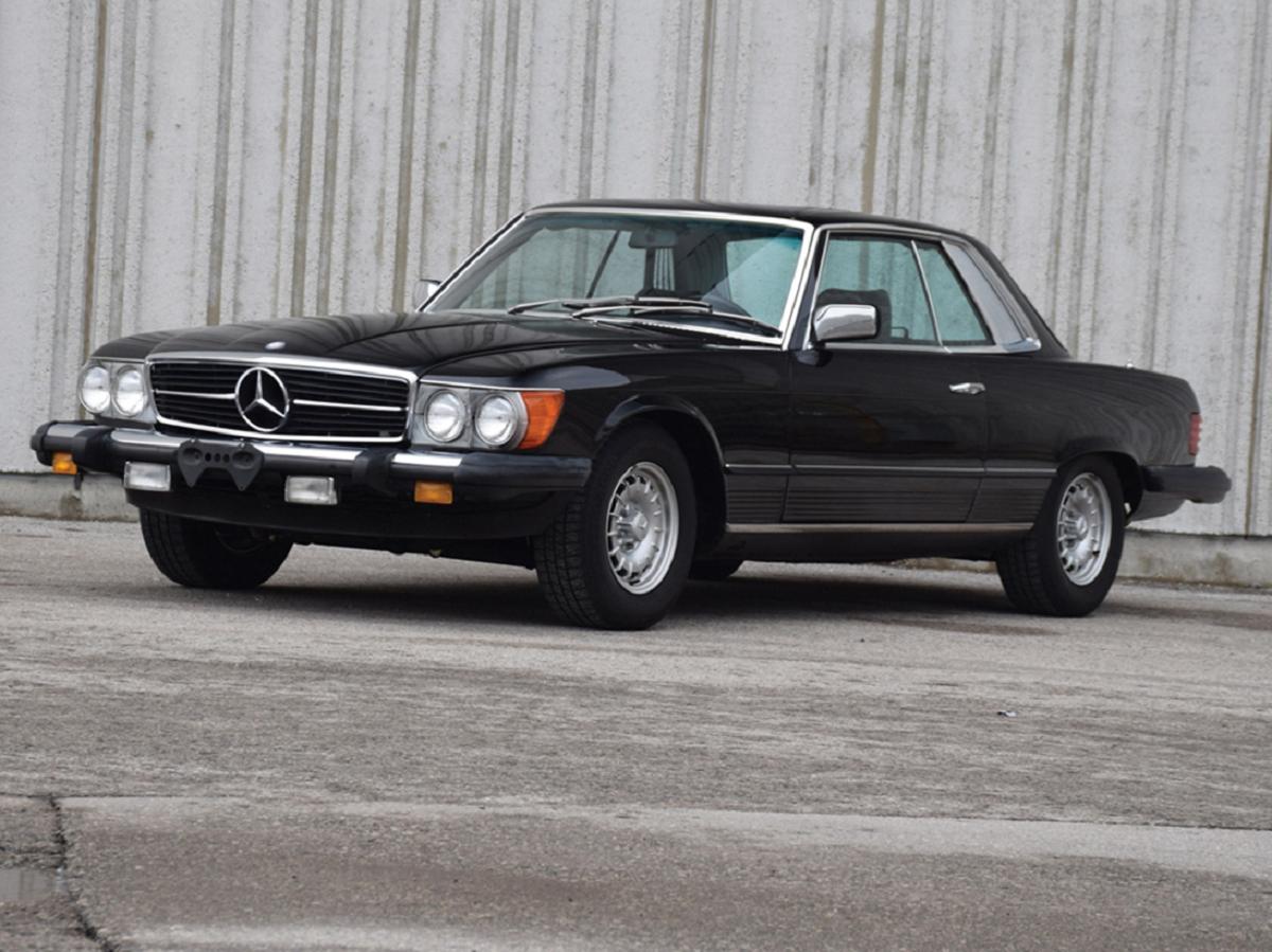 Mercedes-Benz 380 SLC 1981 asta
