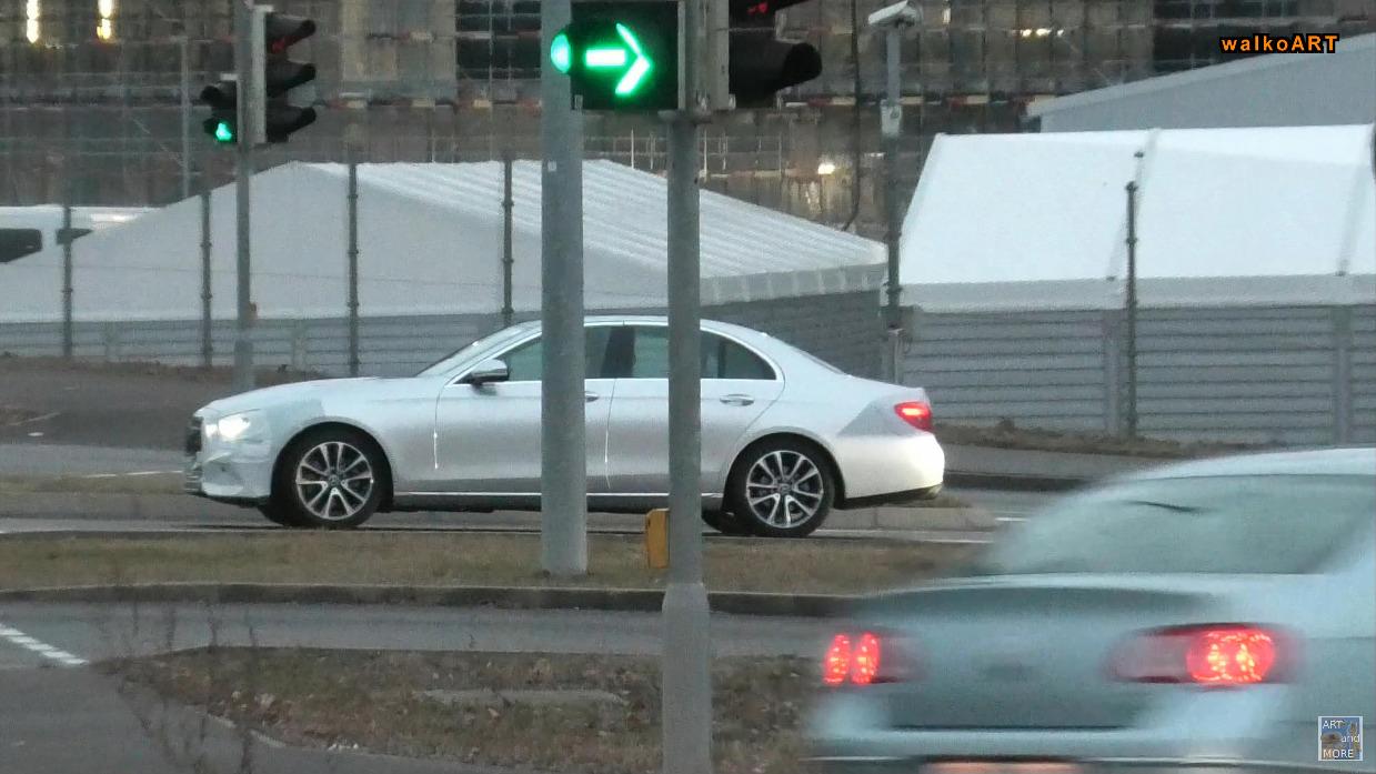 Mercedes Classe E 2021 foto spia Germania