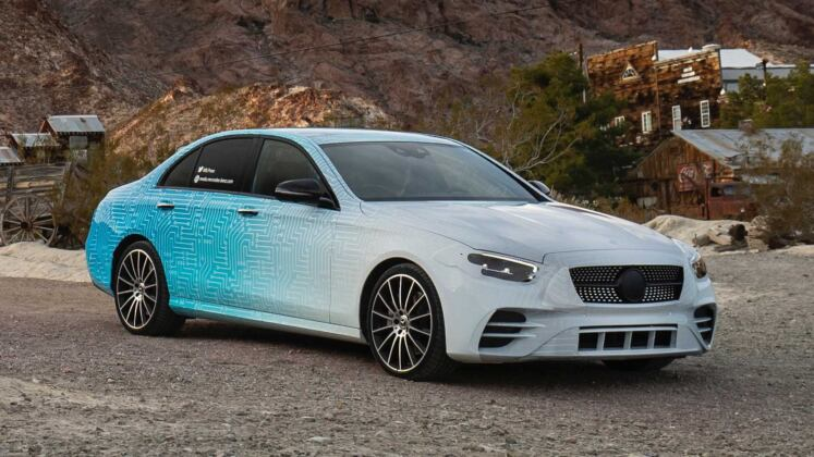 Mercedes Classe E 2021 prototipi ufficiali