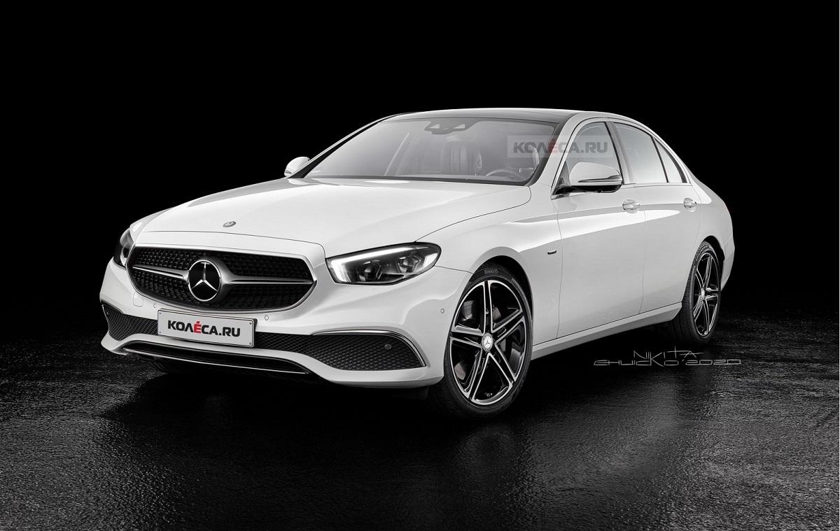 Mercedes Classe E 2021 render