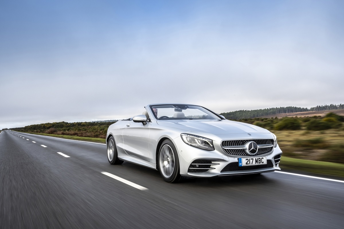 Mercedes Classe S Cabriolet Convertible Car of the Year 2020