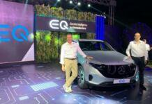 Mercedes EQC India